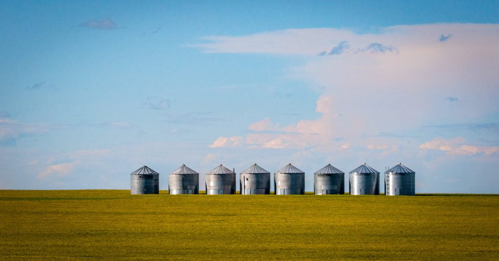 silos to represent the disjointed nature of business.