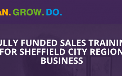[Covid-19 Response] Fully Funded Sales Training For Sheffield City Region.