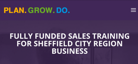 covid 19 responses fully funded sales training for Sheffield city region business