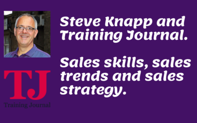 Steve Knapp on sales skills, trends and strategy.